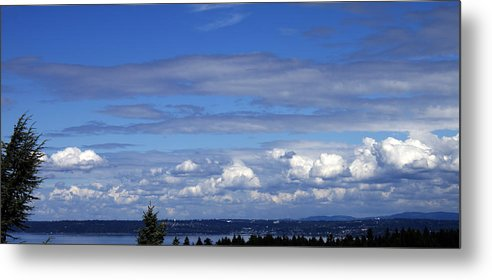 Nature Metal Print featuring the photograph Endless Clouds by Edward Hawkins II
