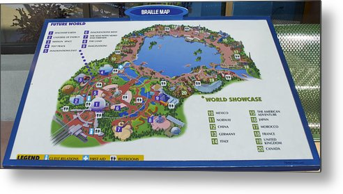picture about Printable Maps of Disney World identified as Foreseeable future World-wide Map Walt Disney Entire world Electronic Artwork Steel Print