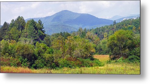 Landscapes Metal Print featuring the photograph Mountain And Valley Near Brevard by Duane McCullough