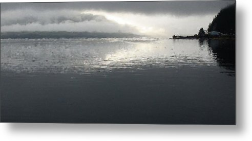 Seascape Metal Print featuring the photograph The Still Of Night by Susan Stephenson
