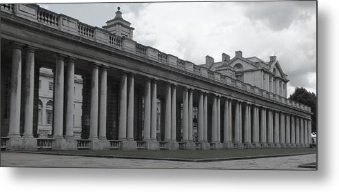 Columns Metal Print featuring the photograph Endless Columns by Anna Villarreal Garbis