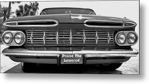 59 Impala Metal Print featuring the photograph Praise The Lowered by Rick Oz