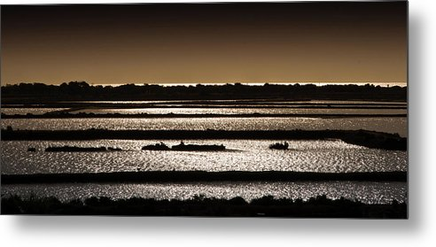 Salina Metal Print featuring the photograph Salinas by Andrea Barbieri