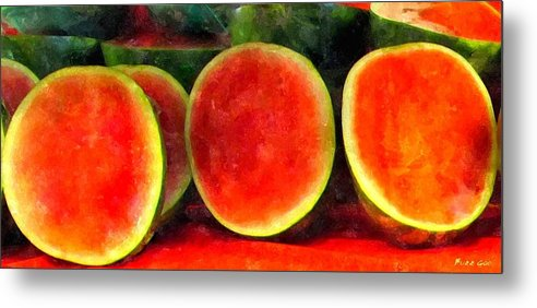 Fruit Art Metal Print featuring the photograph Seedless In Seattle by Buzz Coe