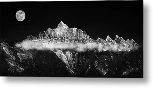 Panorama Metal Print featuring the photograph The Jade Belt by Selinos