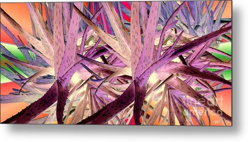 Aloe Metal Print featuring the photograph Aloe Fall by Ron Bissett