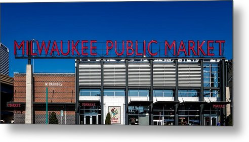 Milwaukee Metal Print featuring the photograph Milwaukee Public Market by Mountain Dreams