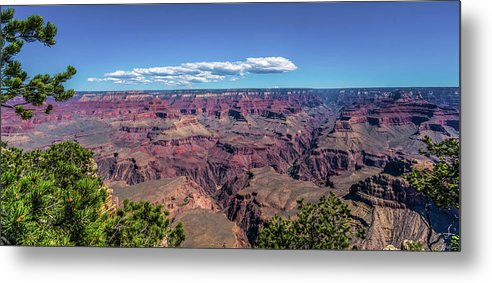 Arizona Metal Print featuring the photograph To The Edge Of Vastness by Bob McCormac