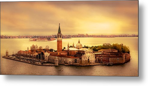 Old Metal Print featuring the photograph San Giorgio Maggiore by Jakob Noc