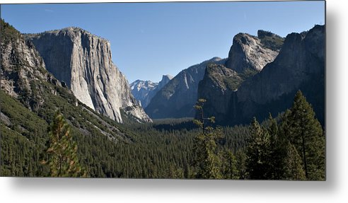 Yosemite National Park Metal Print featuring the photograph Yosemite National Park by Matthew McAward