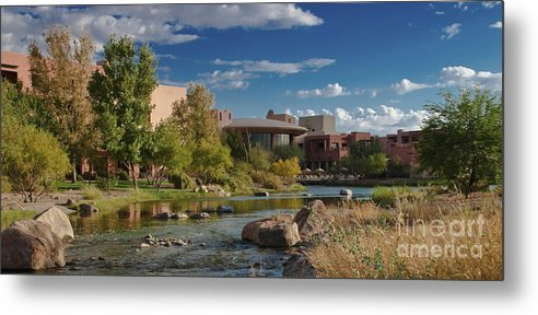 Arizona Metal Print featuring the photograph Along The Wild Horse River by Jim Moore