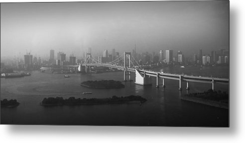 Tokyo Metal Print featuring the photograph Grand View Of Tokyo by Naxart Studio