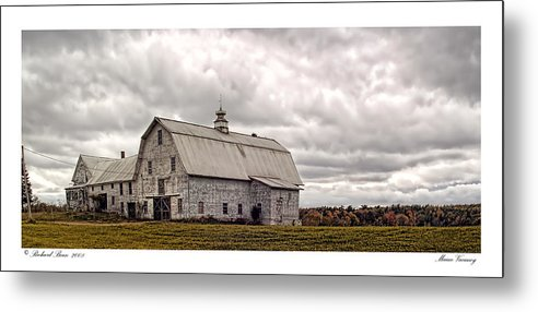 Abandonment Metal Print featuring the photograph Maine Vacancy by Richard Bean