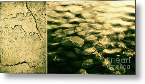 Rocks Metal Print featuring the photograph The Quiet Underneath by Dana DiPasquale