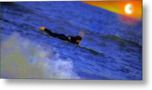 Sports Metal Print featuring the digital art Her Day In The Sun by Chick Phillips