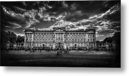 London Metal Print featuring the photograph Eclipse My Heart. Crown Me Queen. by Evelina Kremsdorf