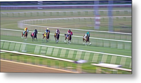 Horse Metal Print featuring the photograph Spirit by Betsy Knapp