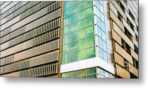 Alaska Metal Print featuring the photograph Anchorage Alaska Architecture by Chuck Kuhn