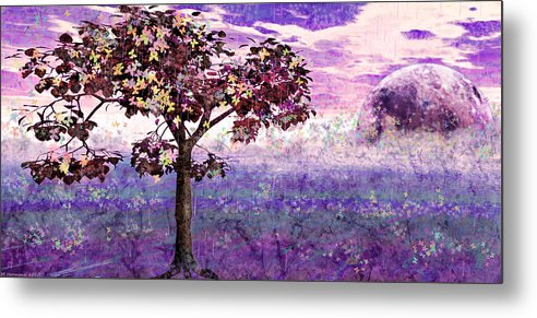 Trees Metal Print featuring the digital art Butterfly Tree by Margaret Hormann Bfa