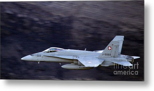 Metal Print featuring the photograph Faster Than Sound by Angel Ciesniarska
