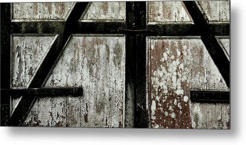 Texture Metal Print featuring the photograph Texture by Sara Pournaghavi