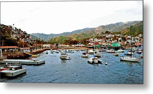 Catalina Metal Print featuring the photograph Catalina Island by AR Harrington Photography