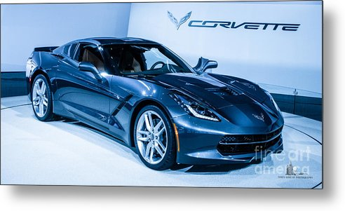 Corvette Metal Print featuring the photograph Corvette Stingray by Ronald Grogan