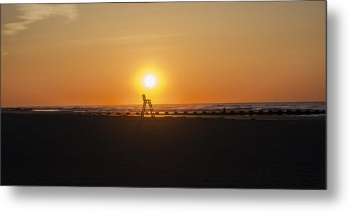 Mornings Metal Print featuring the photograph Mornings In Wildwood Crest by Bill Cannon