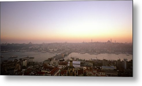 Istanbul Metal Print featuring the photograph Romantic Istanbul by Shaun Higson