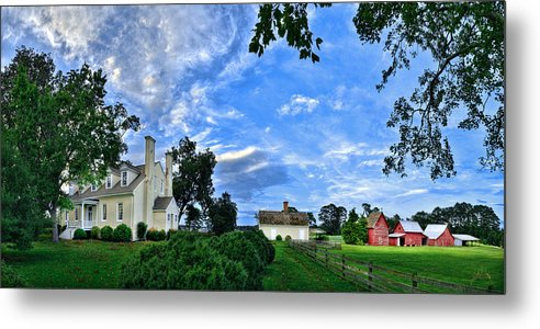 Smithfield Metal Print featuring the photograph Windsor Castle Smithfield Va by Williams-Cairns Photography LLC