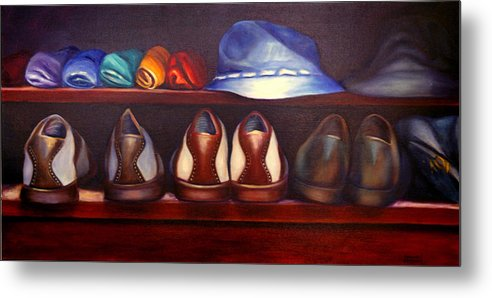 Golf Metal Print featuring the painting Always Options by Shannon Grissom
