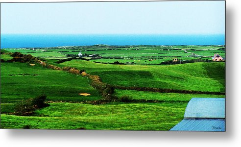 Ireland Metal Print featuring the photograph Atlantic View Doolin Ireland by Teresa Mucha