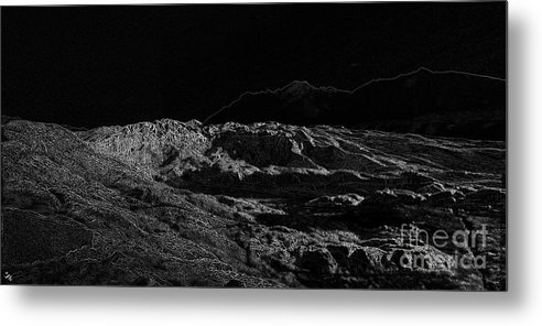 Black Ice Metal Print featuring the photograph Black Ice by Ron Bissett
