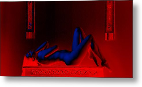 Jem Metal Print featuring the photograph Electric Lady 2 by AE Photo