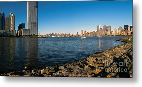 Liberty State Park Metal Print featuring the photograph Liberty State Park by Valerie Morrison