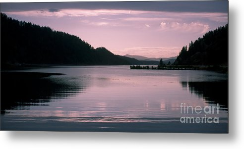Idaho Metal Print featuring the photograph Quiet Afternoon by Idaho Scenic Images Linda Lantzy