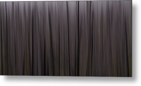 Abstract Metal Print featuring the photograph Forest Illusions- Darkwood by Whispering Peaks Photography