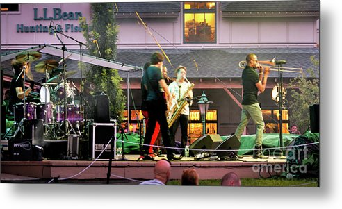 Freeport Metal Print featuring the photograph Trombone Shorty And Orleans Avenue, Freeport, Maine  -57584 by John Bald