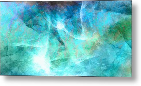 Large Abstract Metal Print featuring the painting Life Is A Gift - Abstract Art by Jaison Cianelli