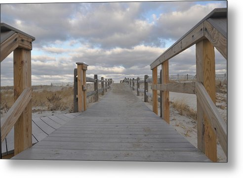 Nauset Beach Metal Print featuring the photograph Nauset Winter by William A Lopez