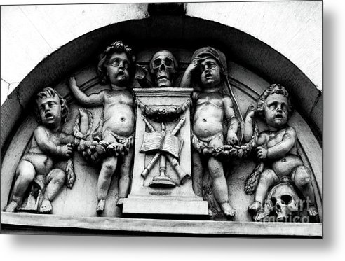 Baby Skully Metal Print featuring the photograph Baby Skulls by John Rizzuto
