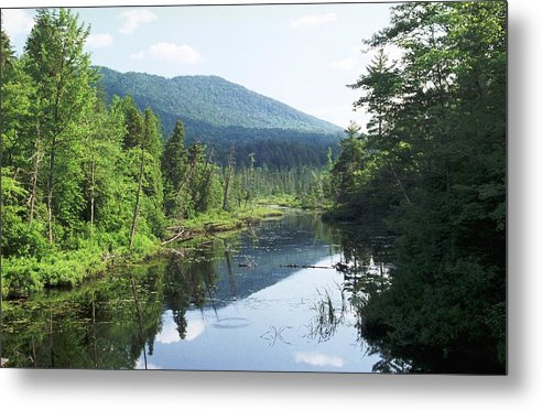 Mountain Metal Print featuring the photograph 070506-84 by Mike Davis