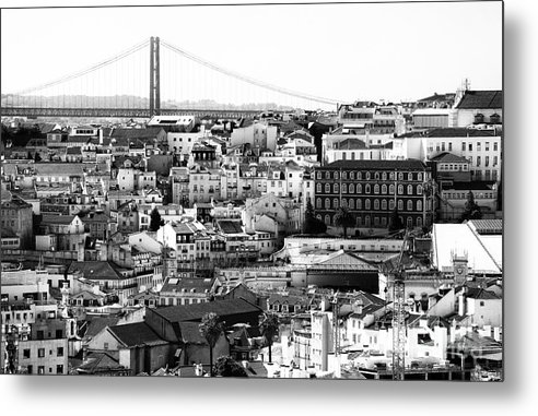 Lisbon I Metal Print featuring the photograph Lisbon I by John Rizzuto