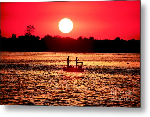 Friend Metal Print featuring the photograph Friends At Long Beach Island by John Rizzuto