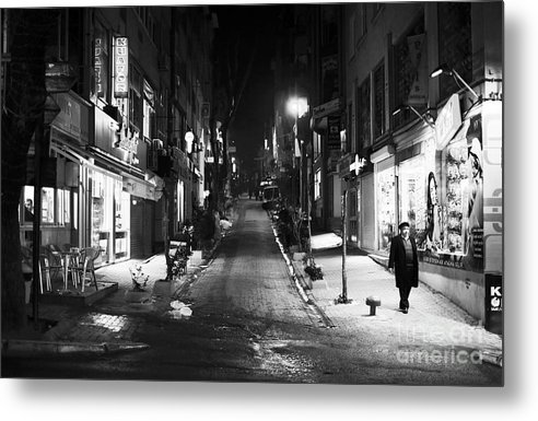 Nisantasi Street Metal Print featuring the photograph Nisantasi Street by John Rizzuto