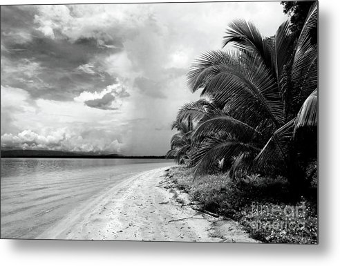 Storm Cloud On The Horizon Metal Print featuring the photograph Storm Cloud On The Horizon by John Rizzuto