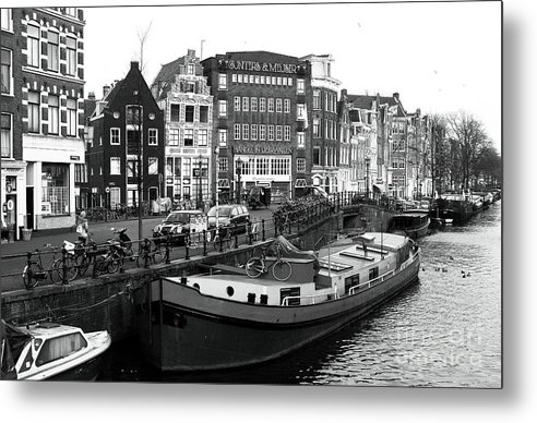 Amsterdam Day Metal Print featuring the photograph Amsterdam Day by John Rizzuto