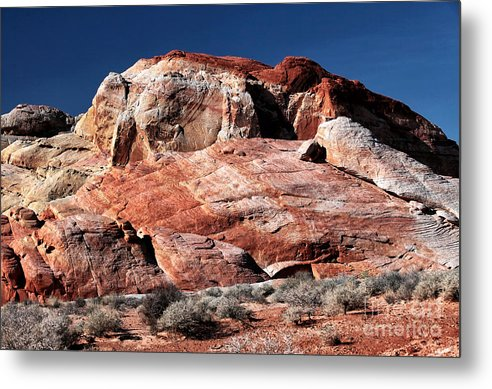 Rock Colors Metal Print featuring the photograph Rock Colors by John Rizzuto