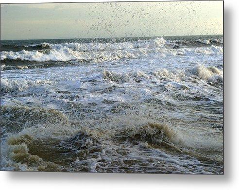 Sea Metal Print featuring the photograph Sea Spray by Veron Miller