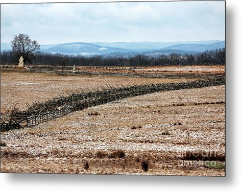 Battle Lines Drawn Metal Print featuring the photograph Battle Lines Drawn by John Rizzuto